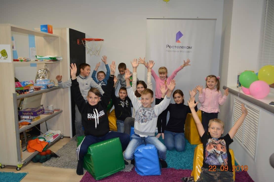Мастер-класс для детей сотрудников ПАО «Ростелеком» в г. Саранск!
