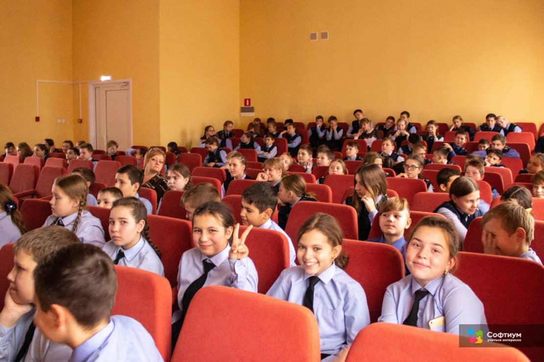 Лекции по безопасности в Интернете для Школы №3 г. Саранск