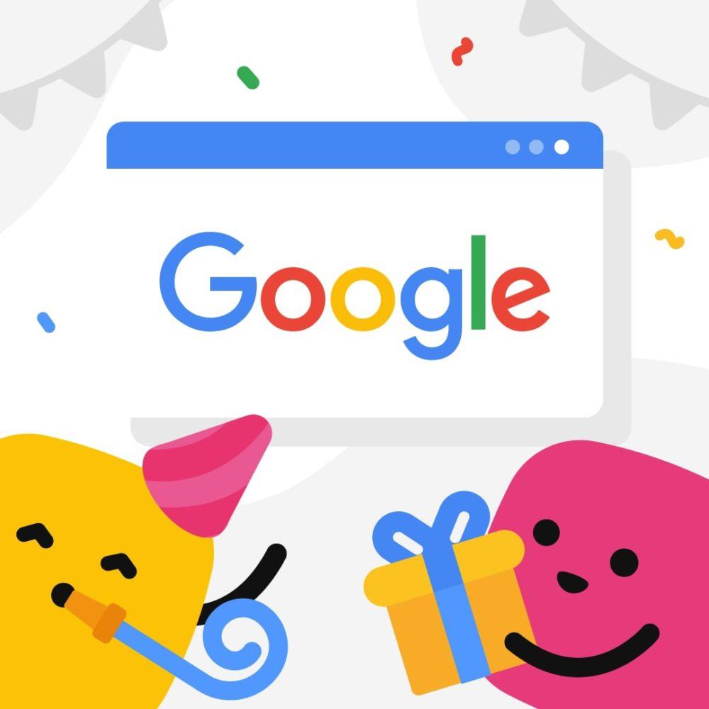 С Днём Рождения, Google!